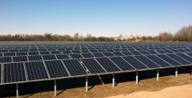 Freiland-Photovoltaik in Angermünde