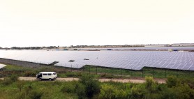 Solargarten in Oppin